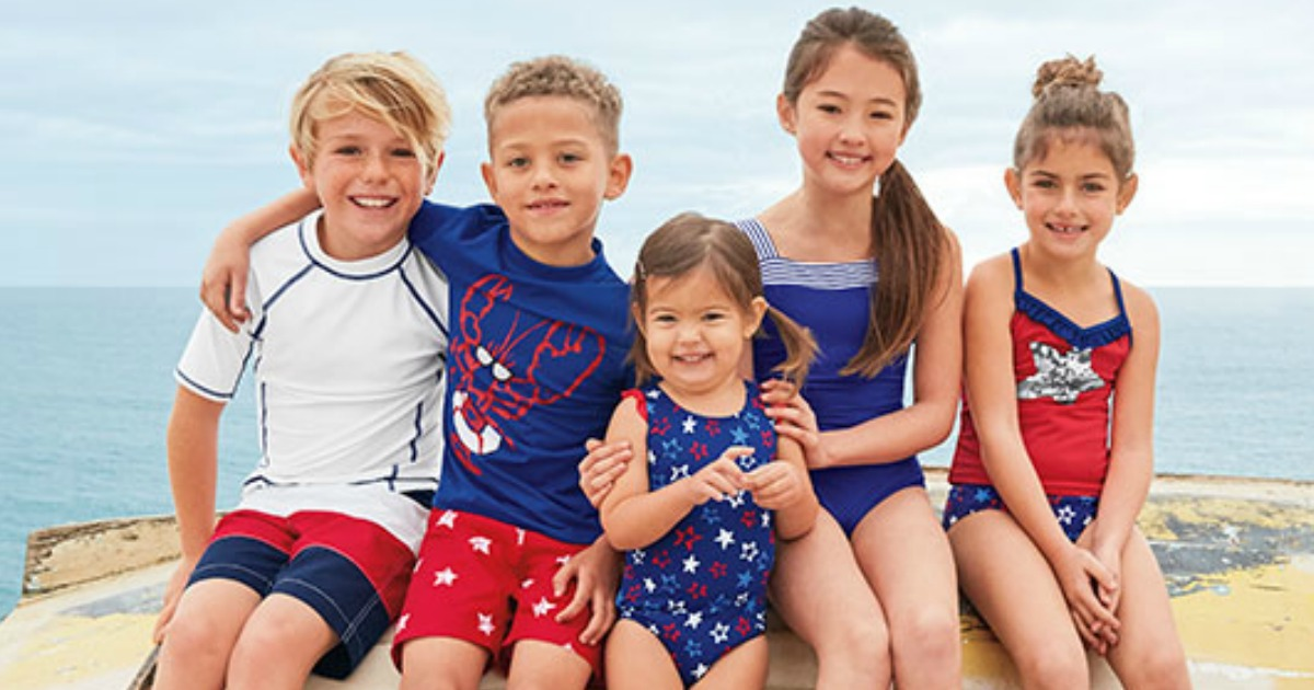 98cc3e12f3 Up to 85% Off Lands' End Swimwear For Entire Family AND Free Shipping -  Hip2Save