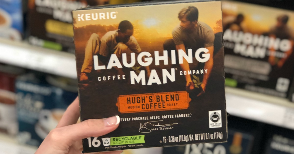 Target: Laughing Man Coffee K-Cups 16-Count Box Only $8.69 ...