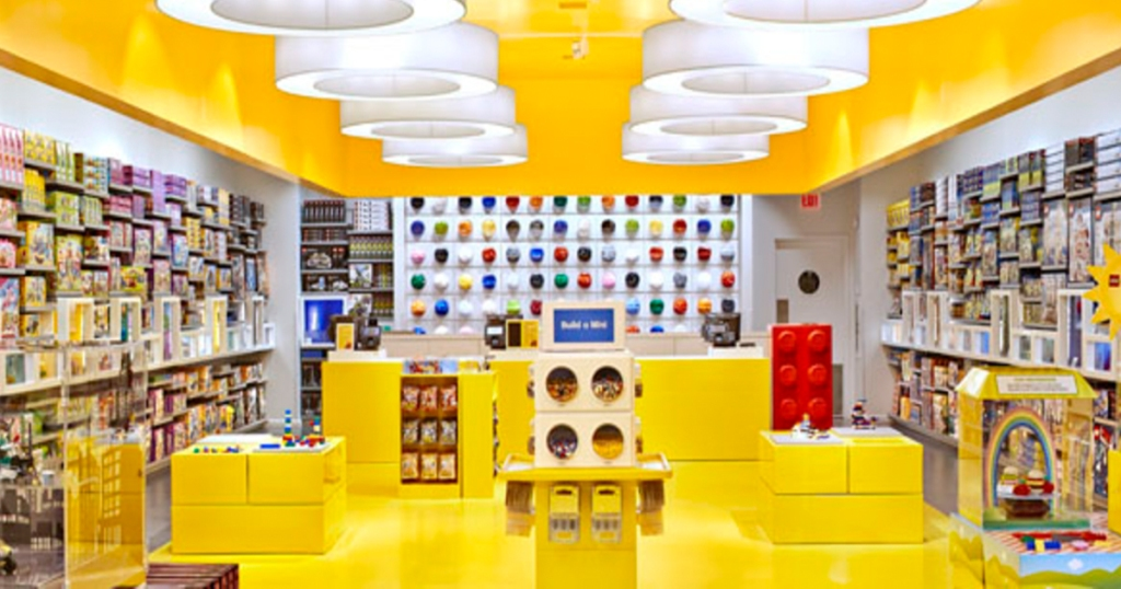 free summer activities for kids — lego store mini builds