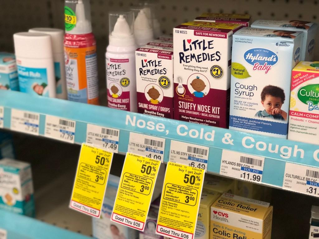 High Value 1 50 1 Little Remedies Coupon Saline Drops