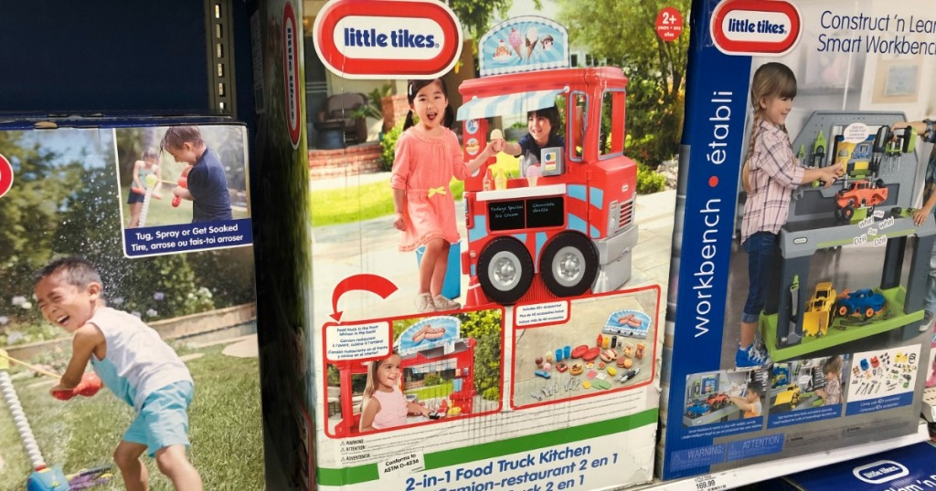 Surprising Little Tikes 2 In 1 Food Truck Kitchen Only 66 49 Shipped Beatyapartments Chair Design Images Beatyapartmentscom