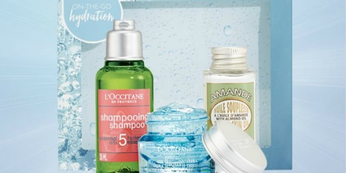 FREE On-the-Go Hydration Gift at L'Occitane (No Purchase Required In-Store)