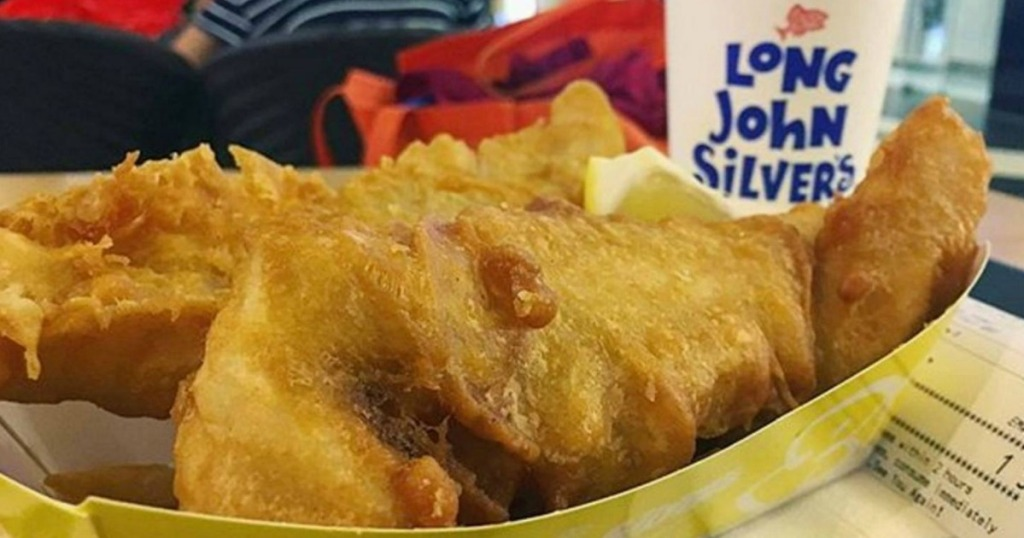 meal from Long John Silver's