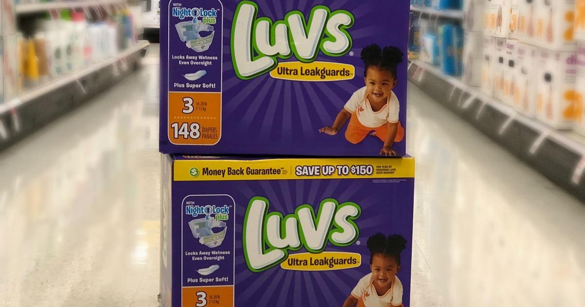 Luvs Ginormous Box