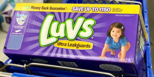 Sam's Club: Luvs Diapers Ginormous Boxes Only $19.98 Shipped (As low as 8¢ Per Diaper)
