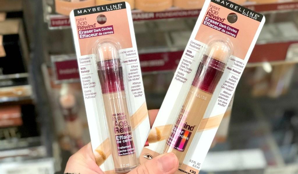 best undereye concealers — maybelline age rewind eraser