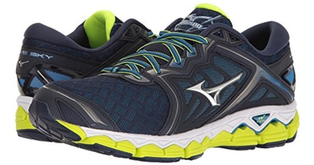 ae24fbb73d495 Mizuno Wave Sky Running Shoes Only $69.99 (Regularly $150) + Free ...