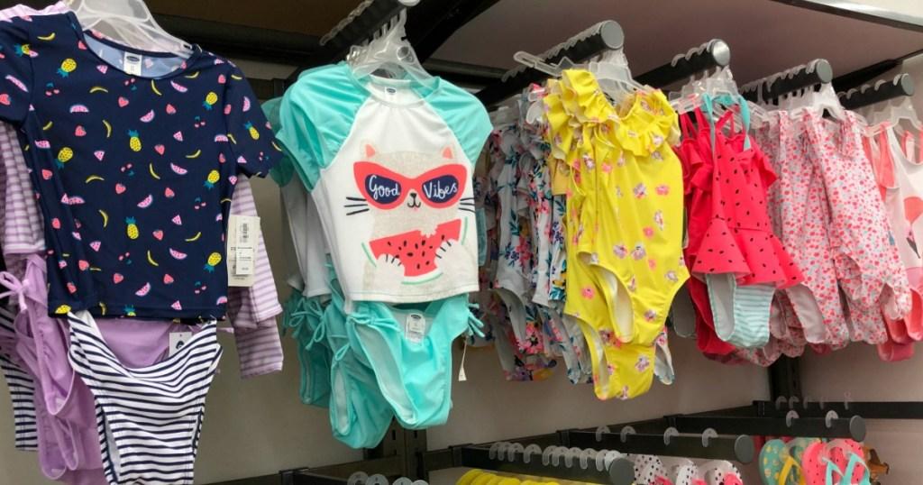 Old Navy Swimwear for girls