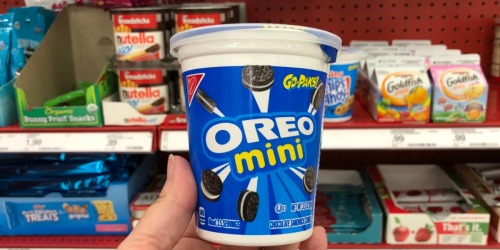 Oreo Mini Go-Paks Only 50¢ After Cash Back at Target