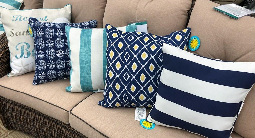 Big Savings On Outdoor Throw Pillows Patio Sets More At Big Lots