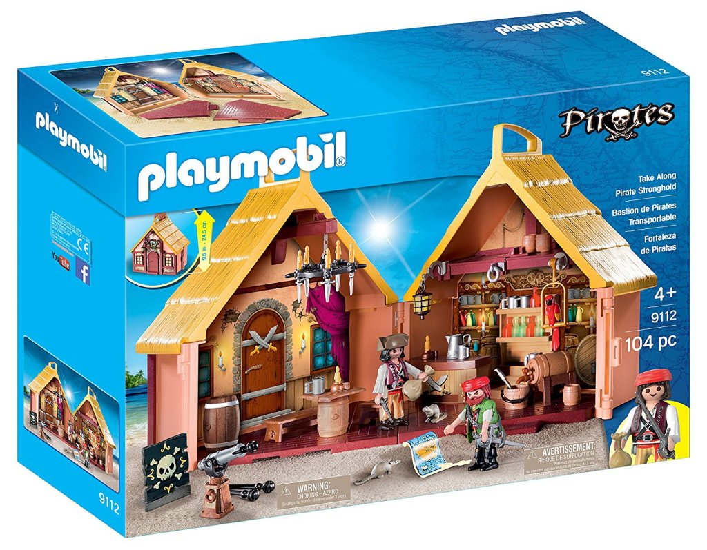 Playmobil Pirate Stronghold at Amazon
