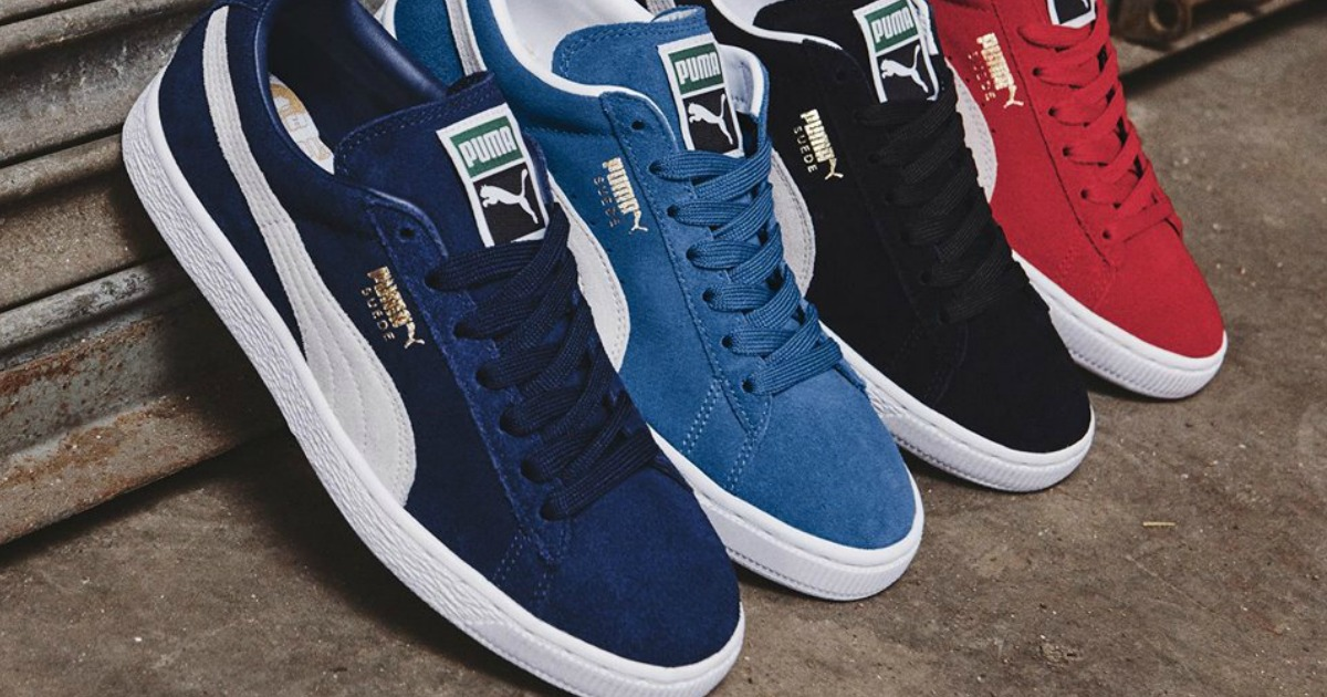 Amazon: PUMA Suede Classic Shoes Only