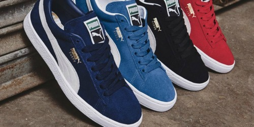 Amazon: PUMA Suede Classic Shoes Only $23.95 Shipped (Regularly $65)