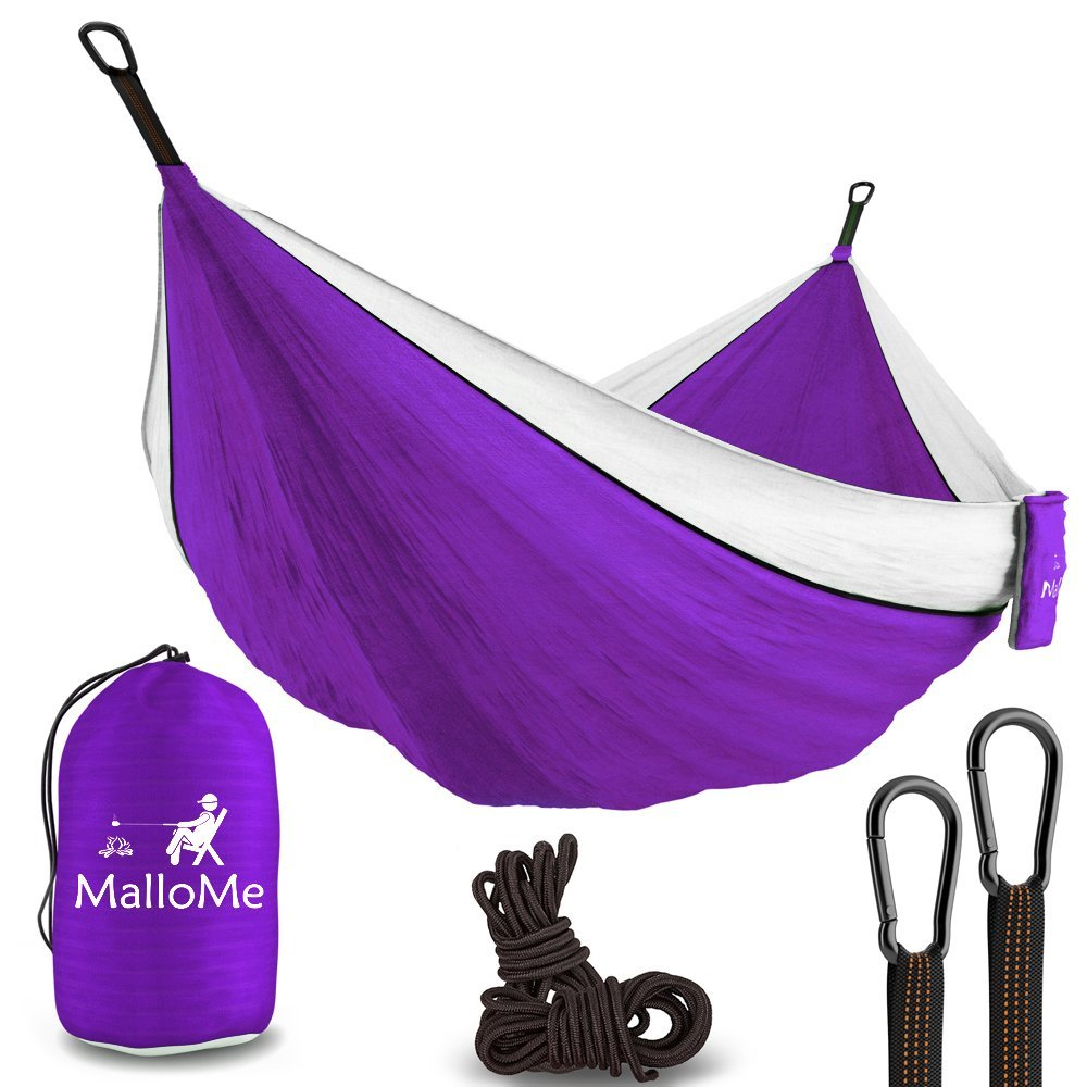 Amazon: XL Double Parachute Camping Hammock Only $20.42