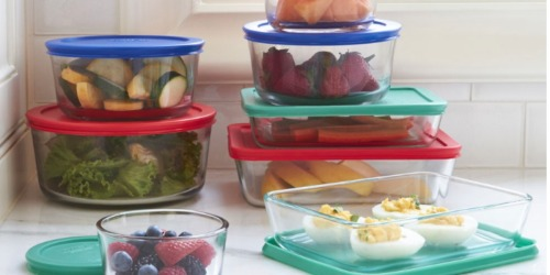 Pyrex 18-Piece Storage Set Just $14.99 at JCPenney (Regularly $78)
