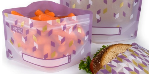 FOUR Reusable Snack & Sandwich Bags Just $7.98 Shipped