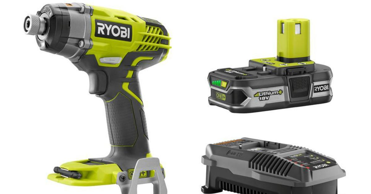 Home Depot: Ryobi Cordless Combo Kit Just $59 Shipped