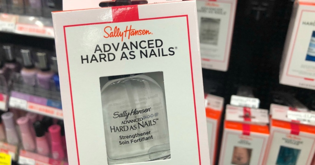 Over 85% Off Sally Hansen Hard as Nails Strengtheners After CVS ...