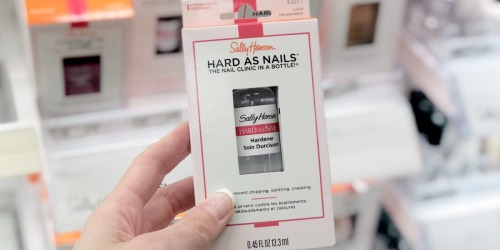 Sally Hansen Nail Treatments Only 49¢ Each After CVS Rewards (Starting 8/18)