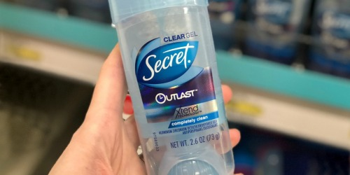 Secret Outlast Deodorant 3-Pack Only $8.22 Shipped on Amazon   Just $2.74 Each