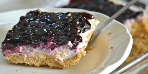 Dive Into the Blueberry Cheesecake Dessert of Your Dreams