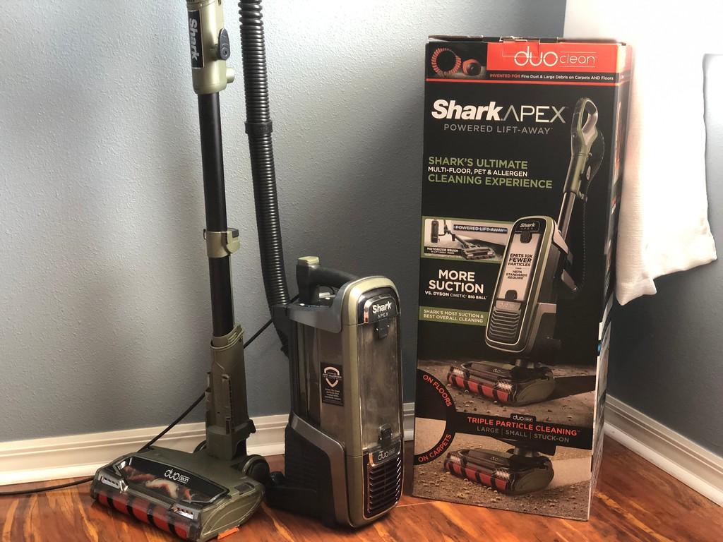 Shark APEX DuoClean vacuum review – vacuum with box