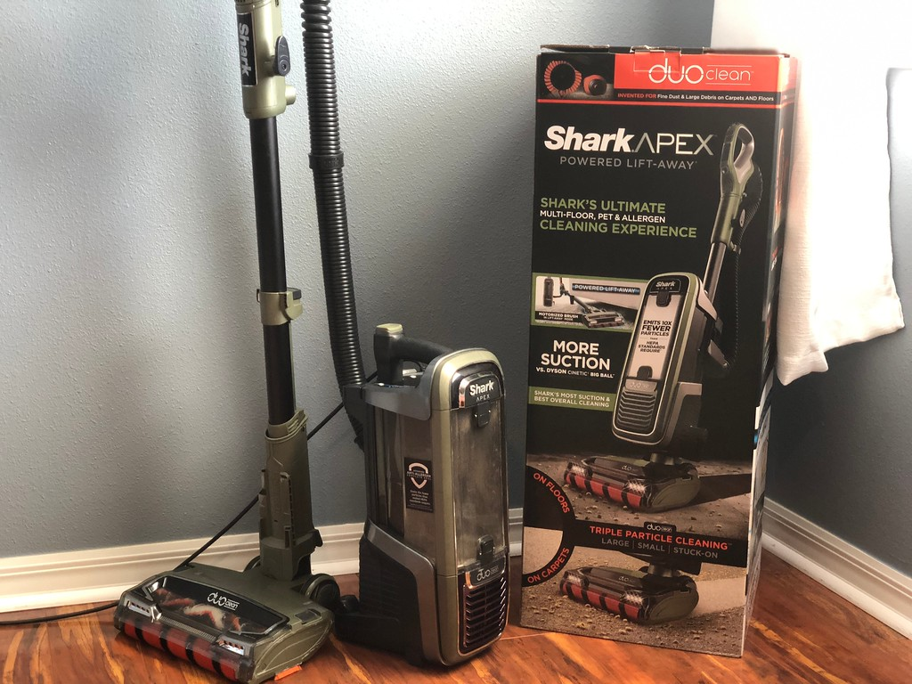 Shark APEX DuoClean vacuum review – vacuum with box