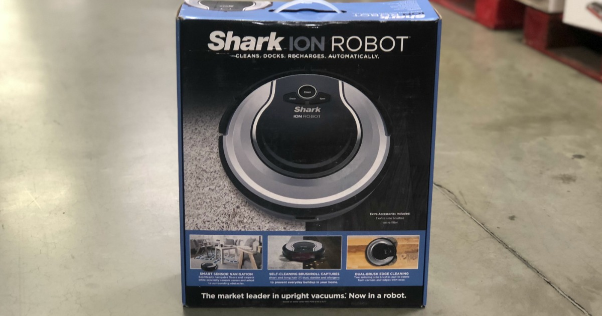 Shark Ion Robot Vacuum Only 179 99 At Sam S Club On May