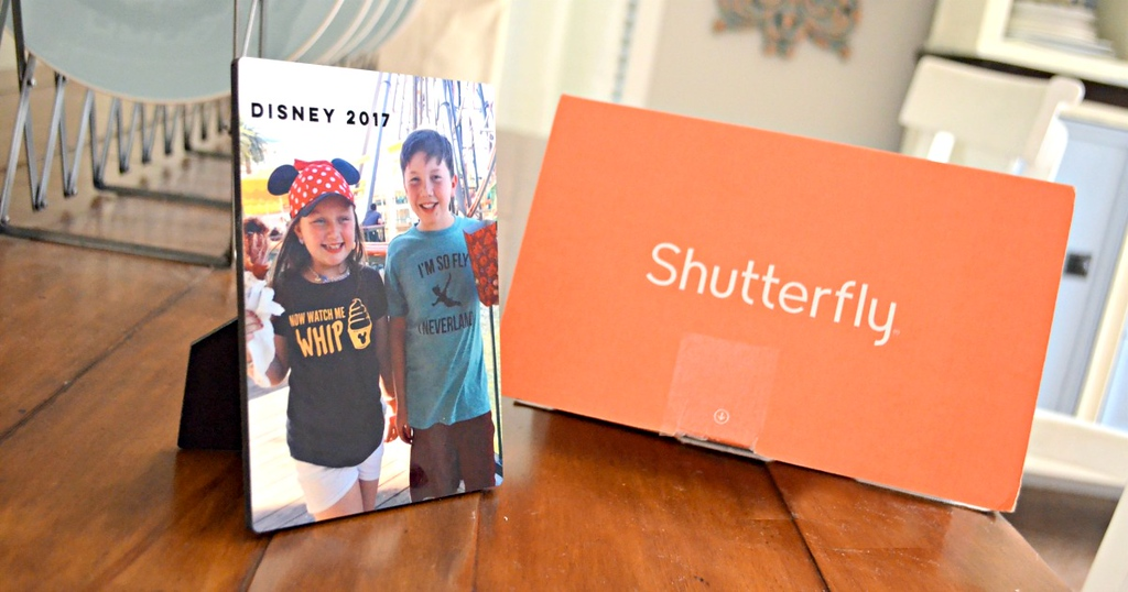 Shutterfly Photo Plaque