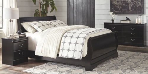 Signature Design by Ashley 4-Piece Bedroom Set AND Mattress $844 Delivered (Regularly $2,000+)