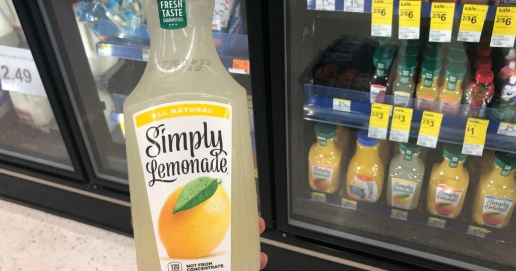 lemonade in front of cooler