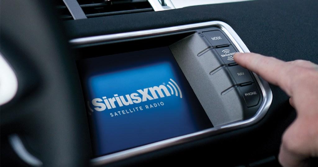 sirius XM car radio