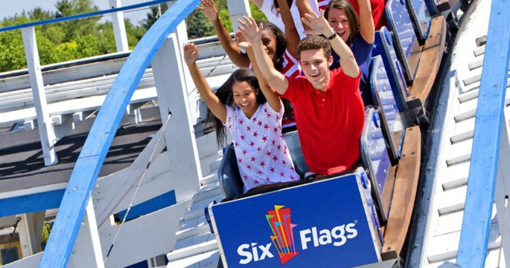 Up to 65% Off Six Flags Season Passes + FREE Parking & More