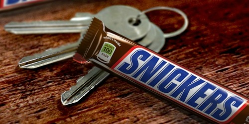 Snickers Candy Bars from 22¢ Each at CVS | Original & Peanut Brownie