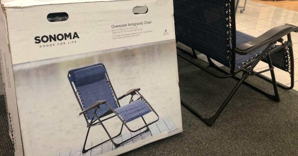 Sonoma Antigravity Chairs