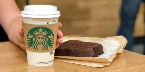 50% Off Starbucks Lattes or Macchiatos (3PM – Close)
