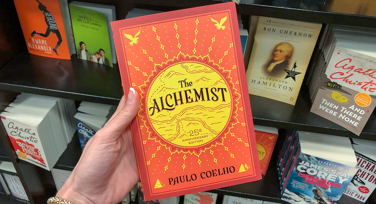 best Amazon self-help books — the alchemist by paulo coelho