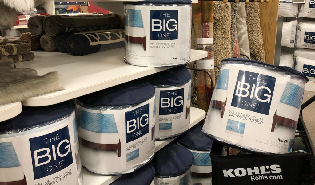 Kohl S Cardholders The Big One Mattress Topper And 3 Microfiber Pillows Only 29 Shipped Hip2save