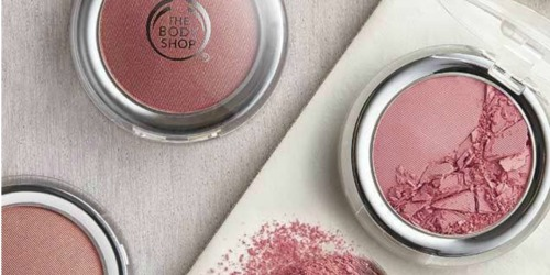 Up to 70% off at The Body Shop + Free Shipping