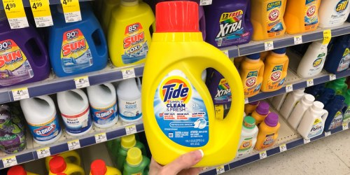 Tide Simply Clean Detergent Just 99¢ at Walgreens (Just Use Your Phone)