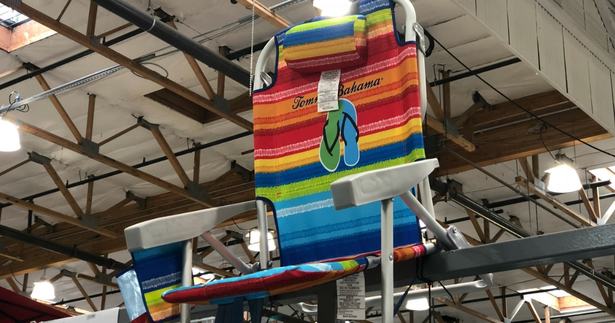 Tommy Bahama Backpack Beach Chairs Just 23 99 At Costco