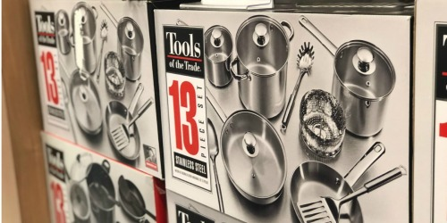 Tools of the Trade 13-Piece Cookware Set Just $29.99 Shipped on Macys.com (Regularly $120)