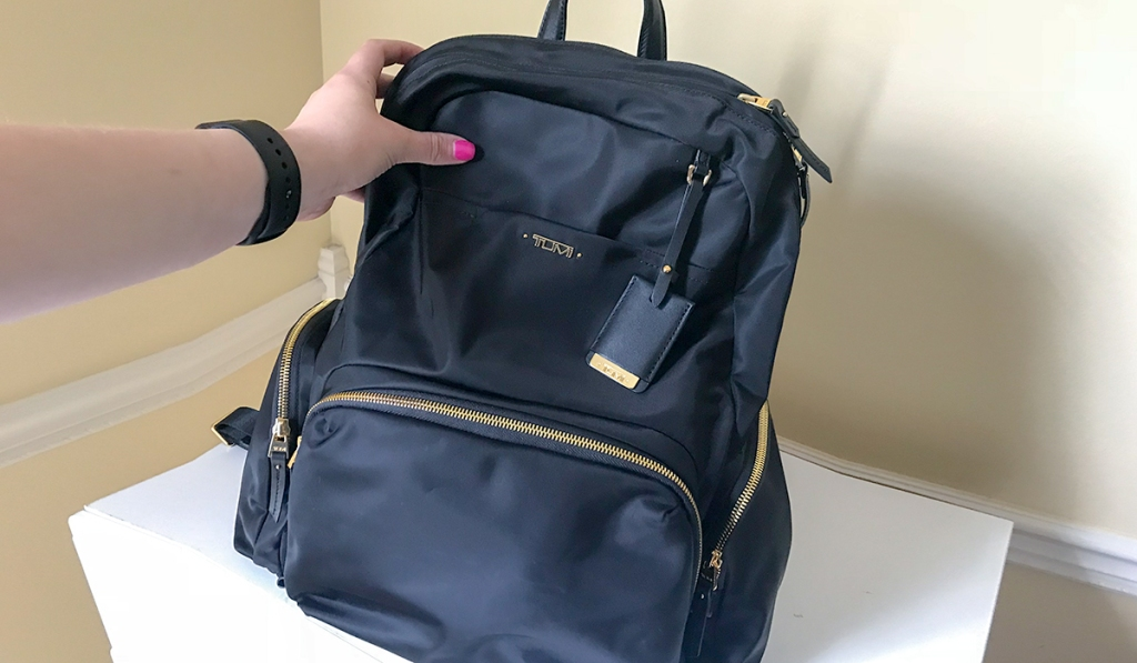 favorite splurges — tumi backpack