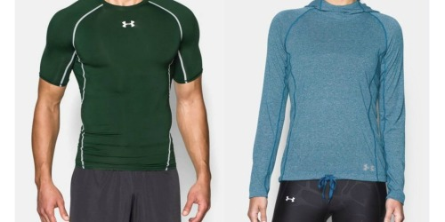 Up to 40% Off Under Armour Apparel For The Family + FREE Shipping
