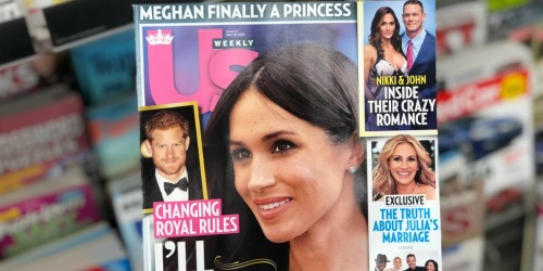 US Weekly Magazine 1-Year Subscription Only $9.95 (Just 19¢ Per Issue)