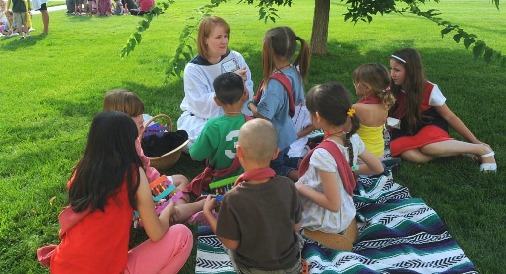 free summer activities for kids — vacation bible school