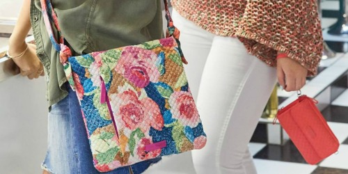 50% off Vera Bradley Totes & More + Free Shipping