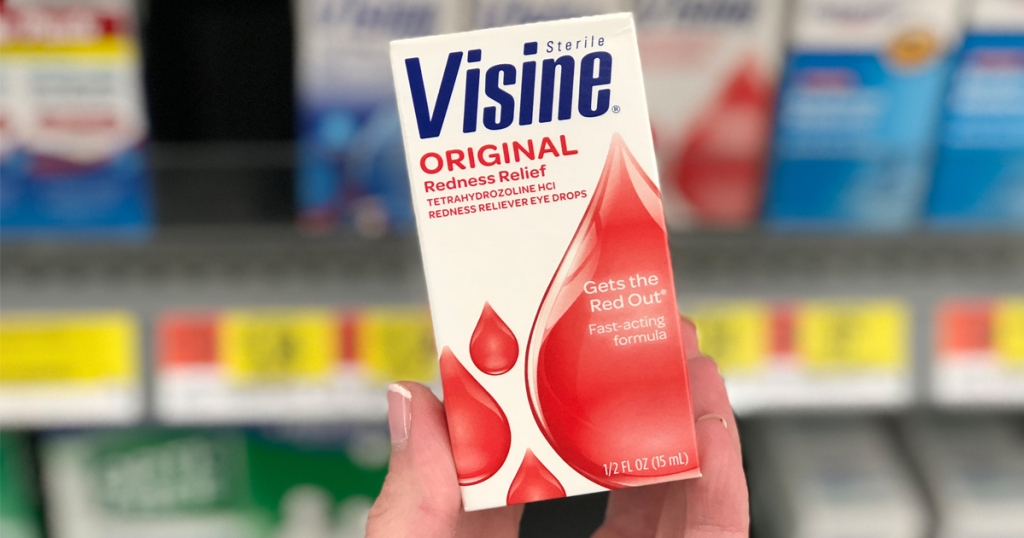 Visine Eye Drops Just 69¢ At Walmart After Ibotta
