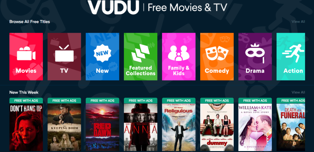 Stream Free Movies & TV Shows with VUDU - Hip2Save