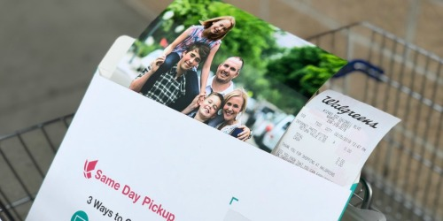 8×10 Photo Print Only 99¢ + FREE Walgreens Same-Day Pickup